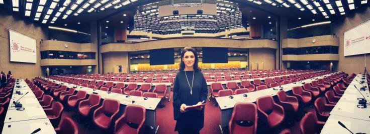 Iuliana Tudor, la repetitii Geneva